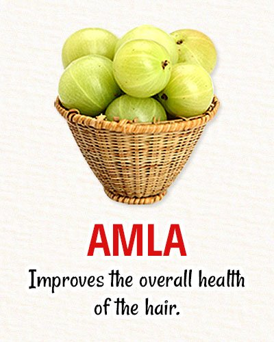 Amla For Natural Hair Restoration