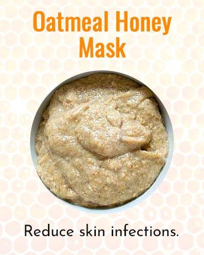 Oatmeal Honey Face Mask