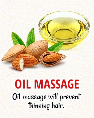 Oil Massage For Natural Hair Restoration