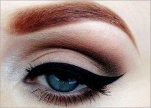 Cat-eyed-look