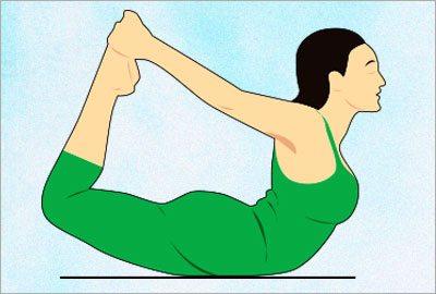 Dhanurasana yoga asana