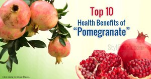 Health Benefits of Pomegranate!