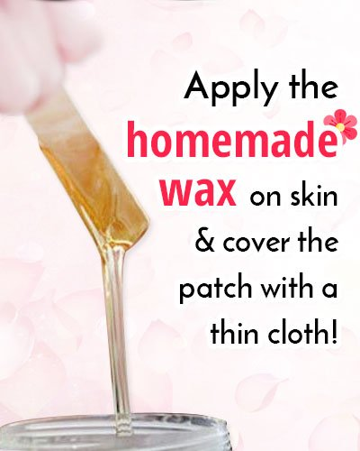 DIY Homemade Wax For Hair Removal