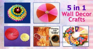 Creative DIY Wall Art Ideas For Your Home Decorations!