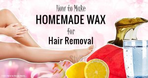 Homemade Wax for Hair Removal