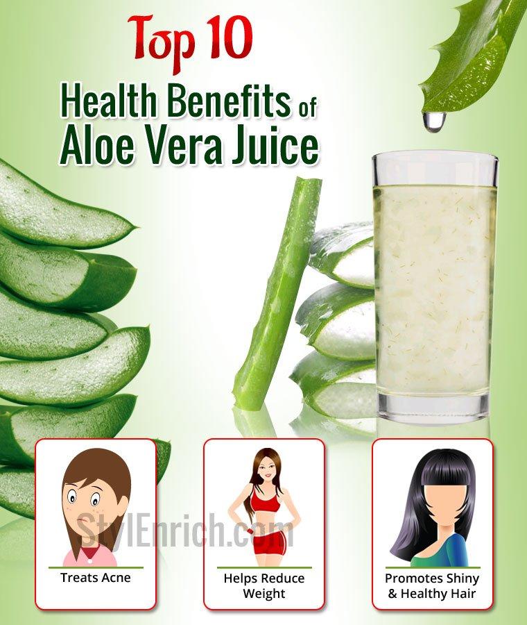 Benefits of Aloe Vera Juice for Overall Health!