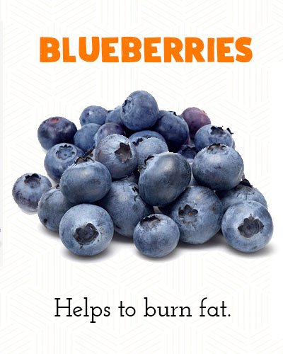 Blueberries to Lose Belly Fat