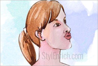 Lips-pull
