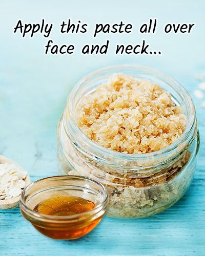 Oatmeal face mask recipes for glowing and acne free skin oatmeal and honey mask solutioingenieria Images