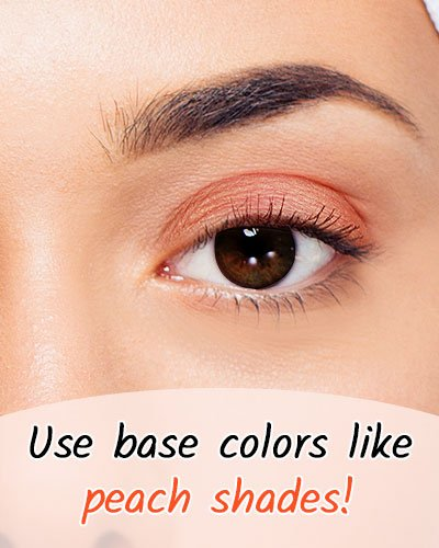 Peach Shade For Black Eyes