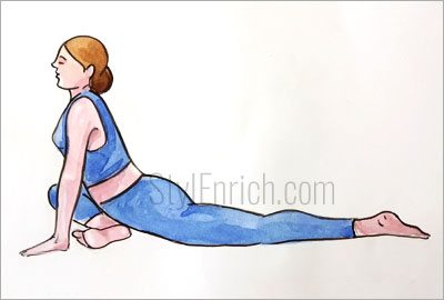 Pigeon-pose-for-back-pain