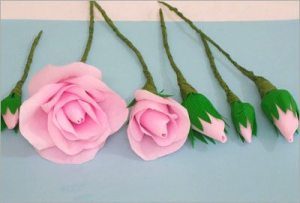 Crepe-paper-rose-bunch