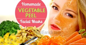 Face Masks DIY Using Veggie Peels