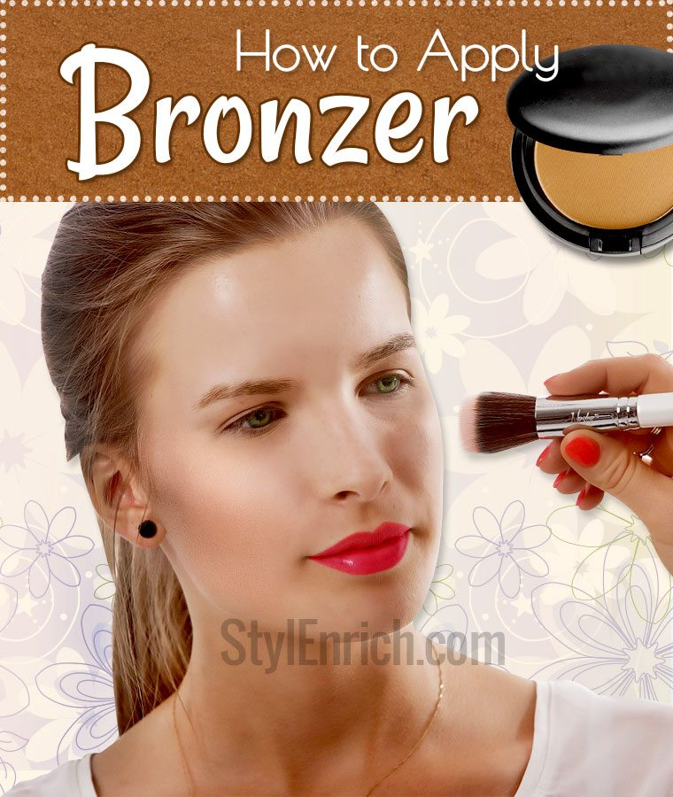 How to apply bronzer on your face step by step instructions how to apply bronzer perfectly ccuart Images