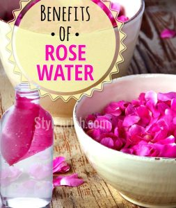 Benefits of Rosewater