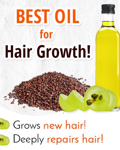 Grapeseed Oil for Hair Growth