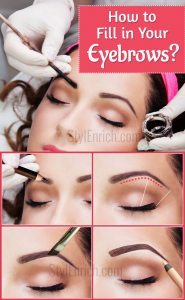 How to Fill in Your Eyebrows?