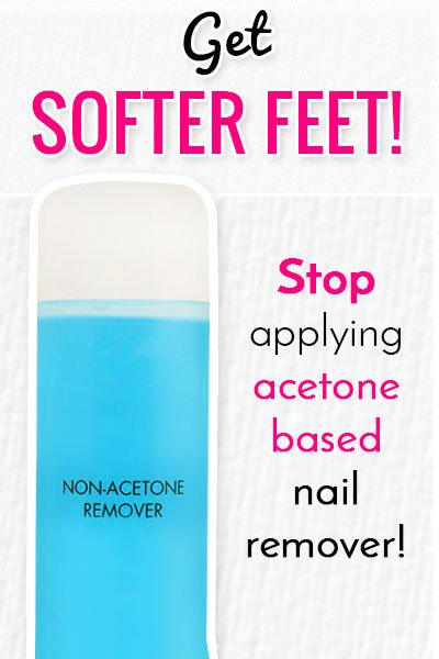 Anti-Acetone Nail Paint Remover