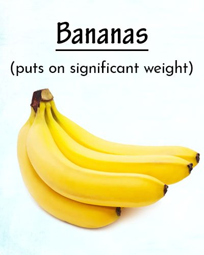 Bananas To Gain Weight