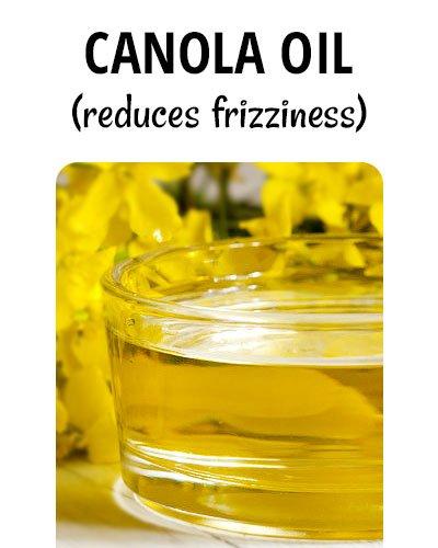 Canola Oil for Hair