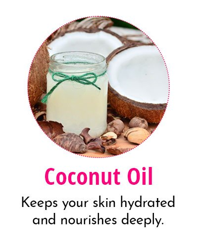 Coconut Oil for Crow's Feet