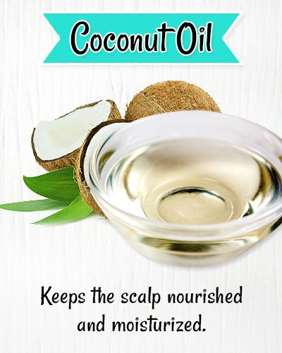 Coconut oil for Itchy Scalp