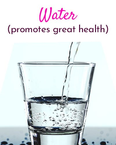 Drink Lots of Water for Glowing Skin