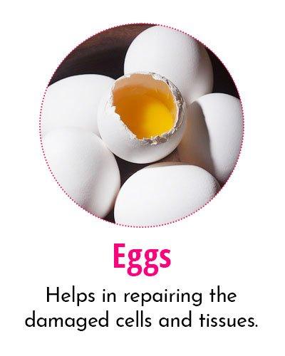 Eggs for Crow's Feet
