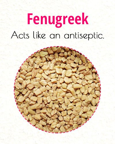 Fenugreek To Treat Milia On Face
