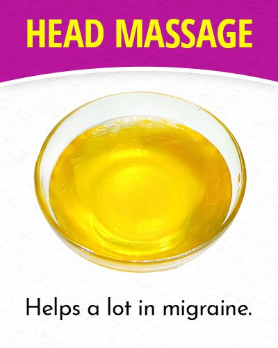 Head Massage for Migraines