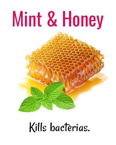 Mint and Honey for Shaky Teeth