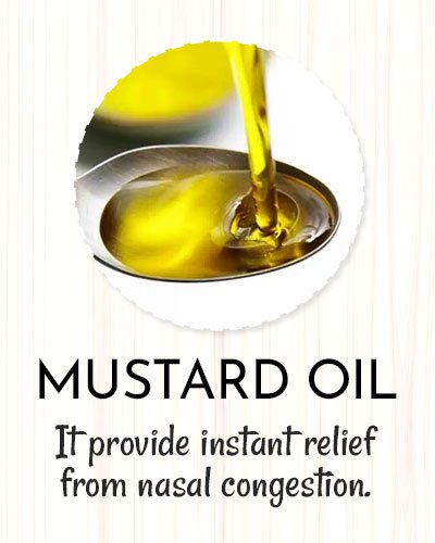 Mustard Oil For Sinus Infection