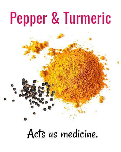 Pepper and Turmeric for Shaky Teeth