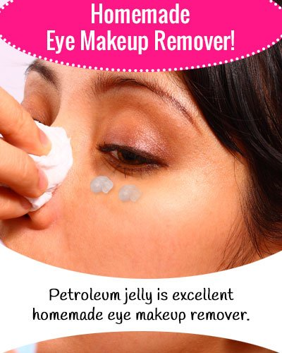 Petroleum Jelly Eye Makeup Remover