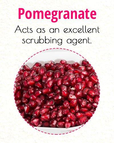 Pomegranate To Treat Milia On Face