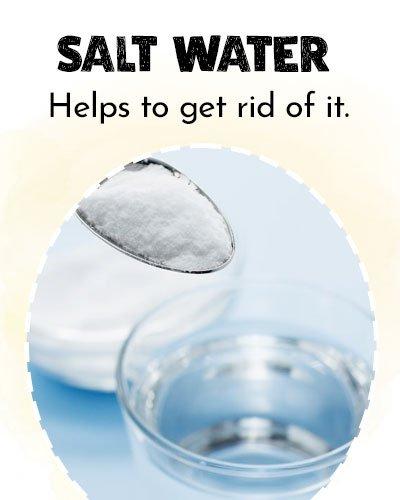 Salt and Water For Eye Stye