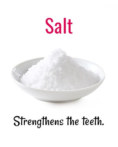 Salt For Strengthens Your Teeth