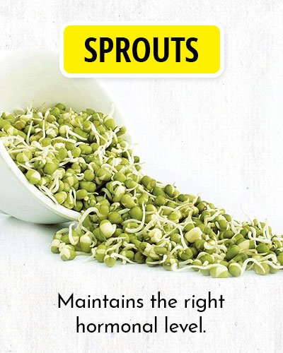 Sprouts to Balance Hormone