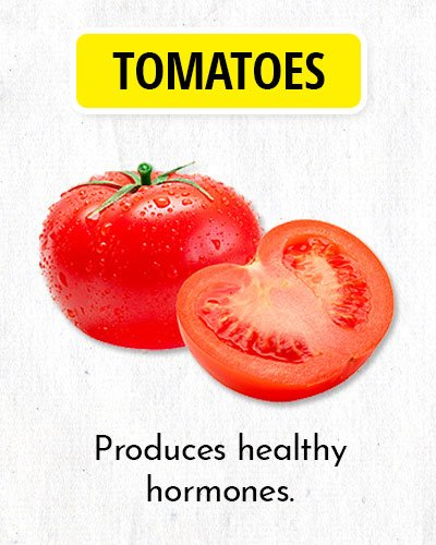 Tomatoes to Balance Hormone