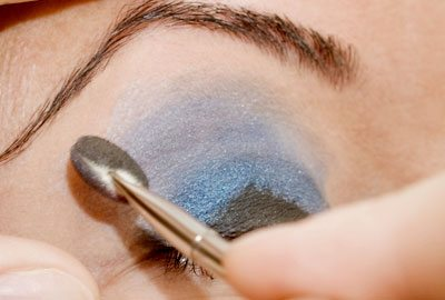 Applying Eyeshadow
