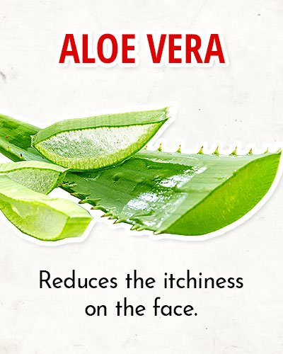 Aloe Vera to Overcome Facial Redness
