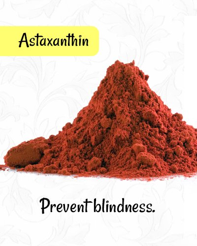 Astaxanthin for Healthy Eyes