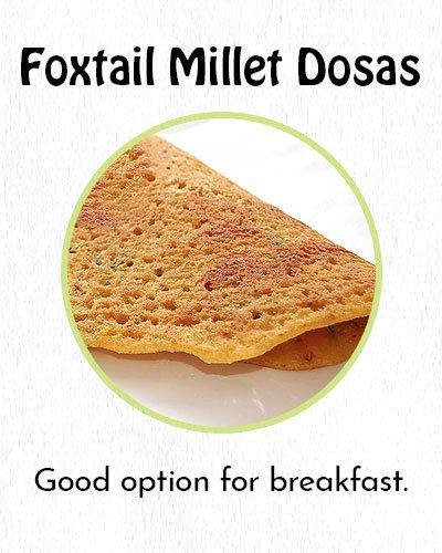 Foxtail Millet Dosas