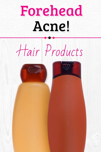 Hair Products Causes of Forehead Acne