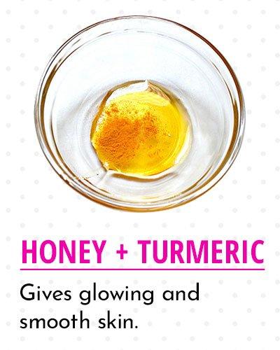 Honey & Turmeric to Get Smooth Skin