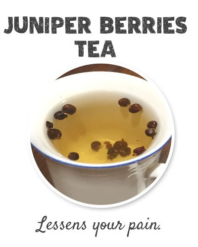 Juniper Berries Tea for Joint Pain