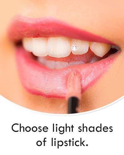 Lighter Shades of Lipstick