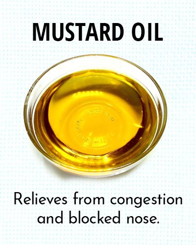 Mustard Oil for Chest Congestion