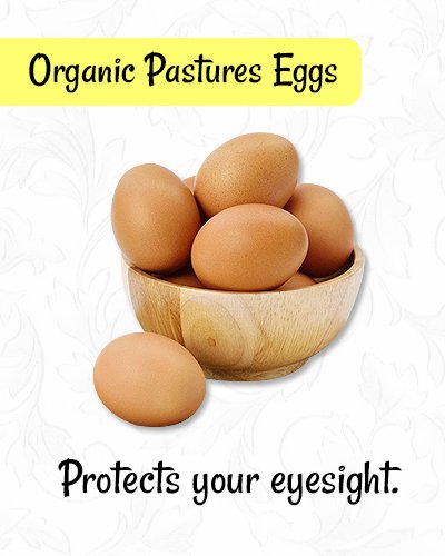 Organic Pastures Eggs for Healthy Eyes