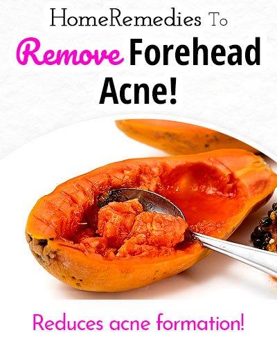 Papaya to Remove Forehead Acne